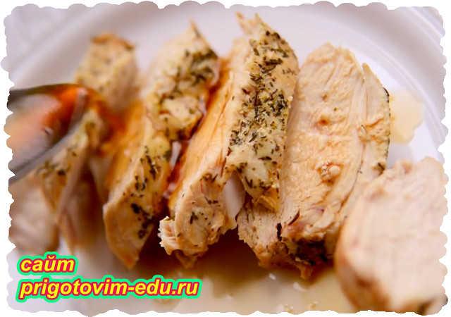 Куриные грудки запеченные в фольге в духовке