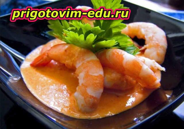 Лангусты-гриль с эстрагоновым маслом