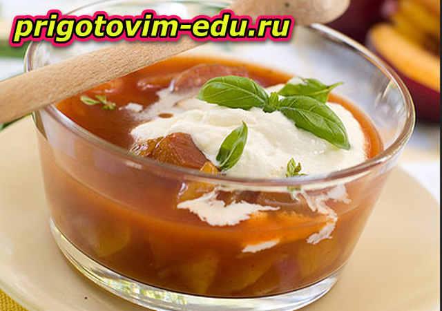 Простой и вкусный Фруктовый суп