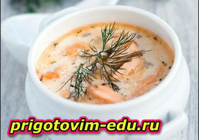 Сливочный суп