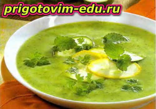 Крем-суп «Кабачок» (рецепт)