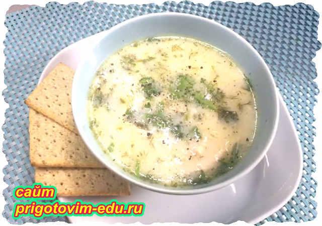 Нежный куриный суп-пюре со сливками