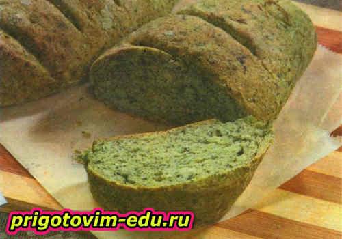 Рецепт шпинатного хлеба