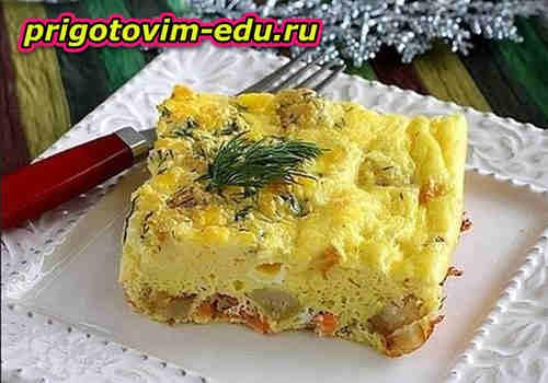 Запеканка картофельная «Золотая рыбка»