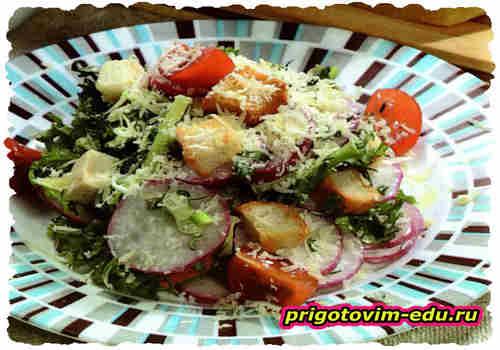 Овощной салат по-корейски
