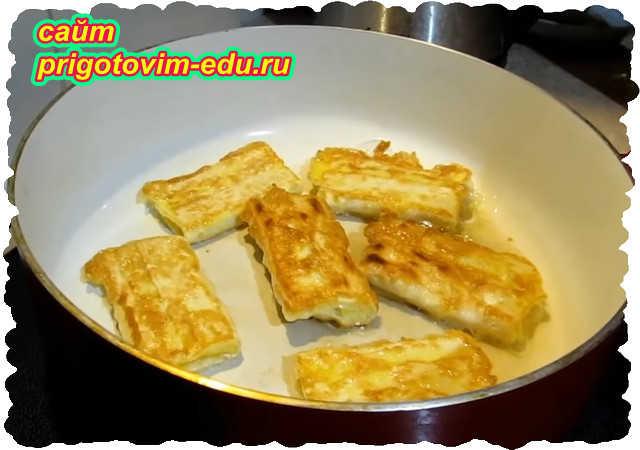 Закуска из лаваша с сыром и яйцом