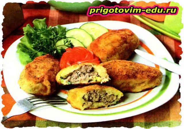 Котлеты картофельно-мясные