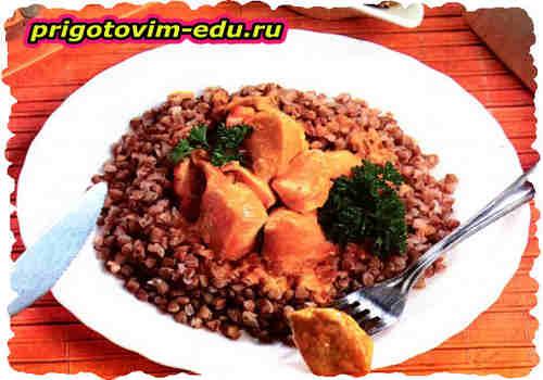 Курочка в имбирном соусе с карри