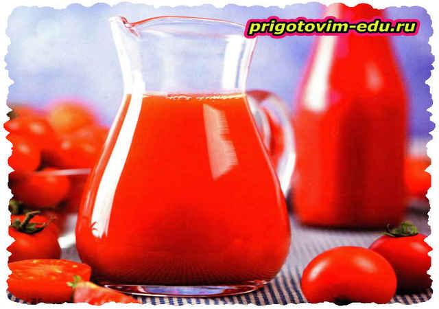 Томатный сок «Огненный» с перцем чили