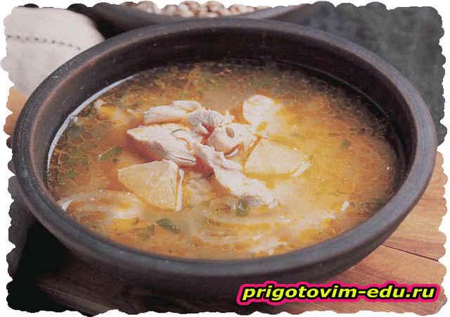Армянский куриный суп