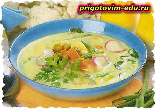 Овощной суп по-скандинавски