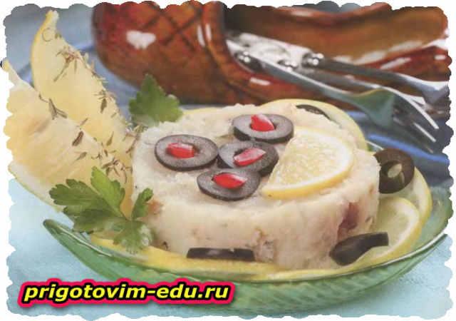 Рыбный паштет из белой рыбы