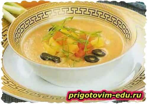 Крем-суп из картофеля и моркови
