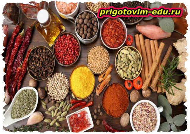 Пряность и специи в кулинарии (1 часть )