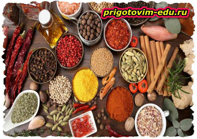 Пряность и специи в кулинарии (2 часть )