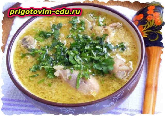 Рецепт куриного супа Чхртма. Армянская кухня