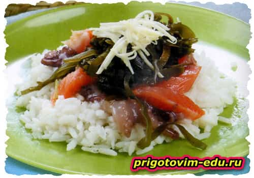Рецепт Тираси-суши с семгой