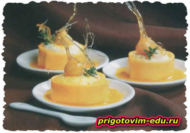 Закуска из сыра с курагой и орехами