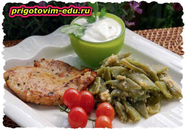Борани с курицей (Армянская кухня)