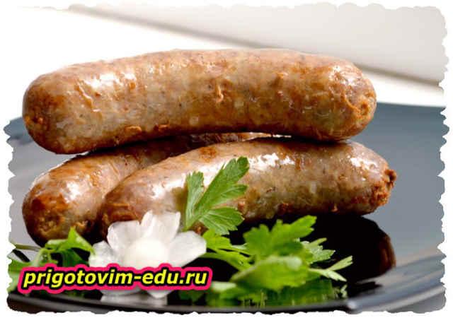 Бумбар мясной - колбаски из баранины (Армянская кухня)