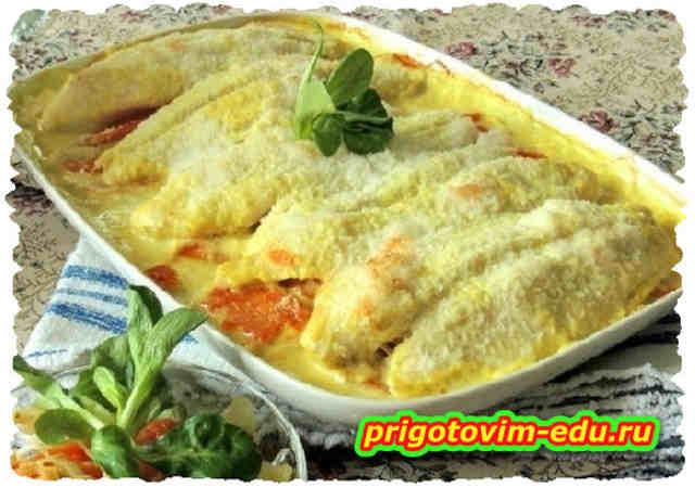 Филе пангасиуса в пикантной панировке