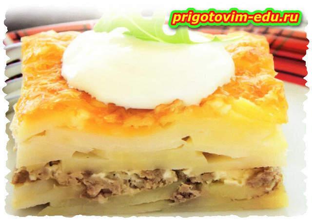 Гратен из картофеля с мясом «ORLOFF»