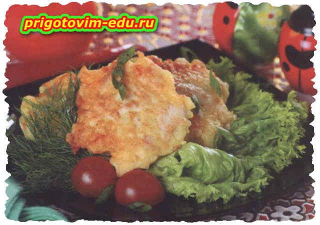 Картофельные драники со свининой