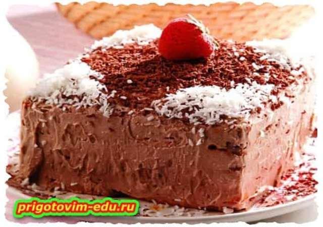 Шоколадные тортики без выпечки