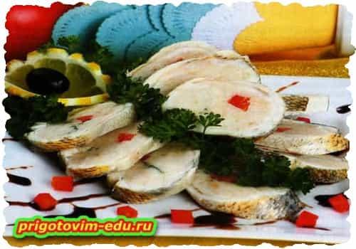 Галантин из филе рыбы