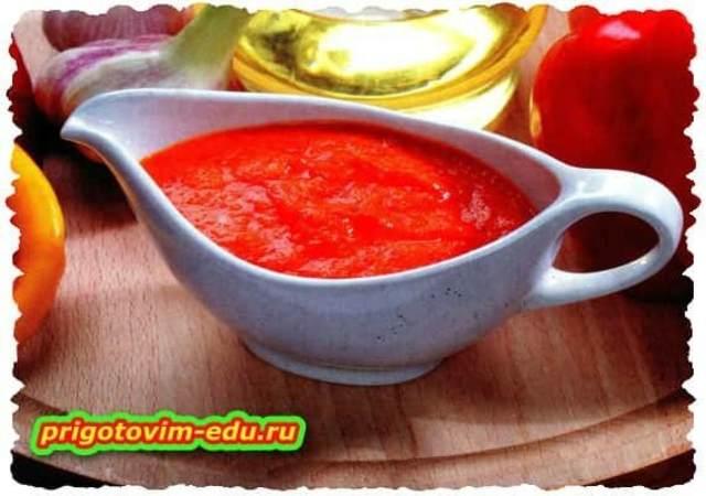 Острый соус из перца