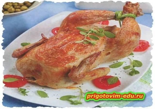 Цыпленок, фаршированный по-трансильвански
