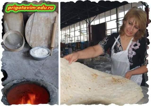 Пару слов о Лаваше (традиционный Армянский хлеб) 1