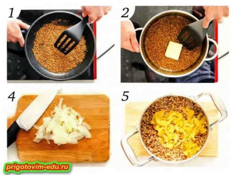 Рецепт приготовления рассыпчатой гречневой каши