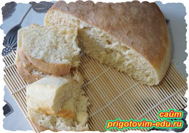 Домашний хлеб на дрожжах в мультиварке