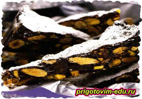 Рецепт итальянского десерта Панфорте