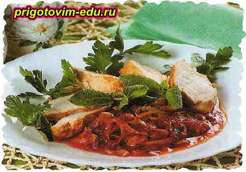Каталонский соус для мясных блюд