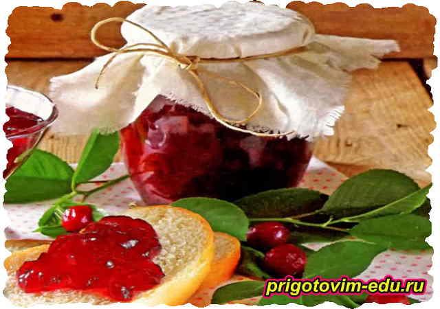 Домашний вишневый мармелад
