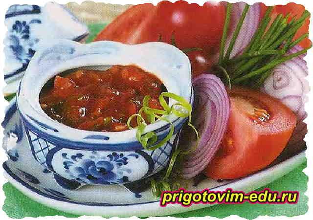 Томатный соус из томатной пасты