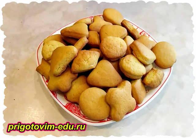 Печенье на огуречном рассоле. Видео рецепт