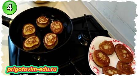 рецепт приготовления банановых оладий