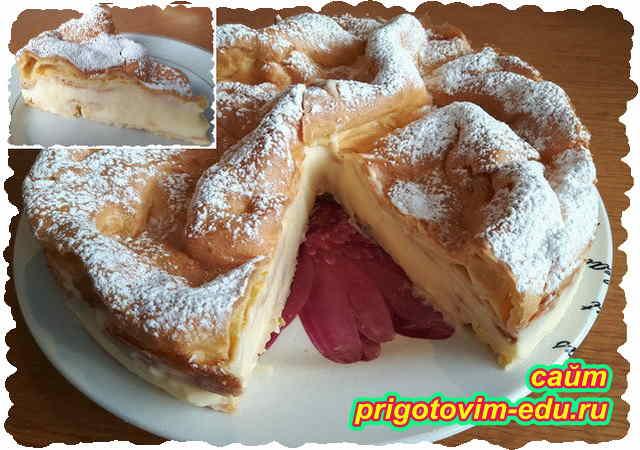 Пирог Карпатка. Видео рецепт