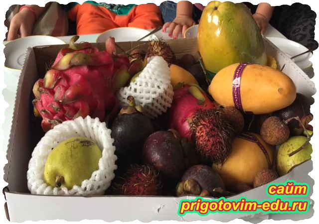 Экзотические фрукты Китая