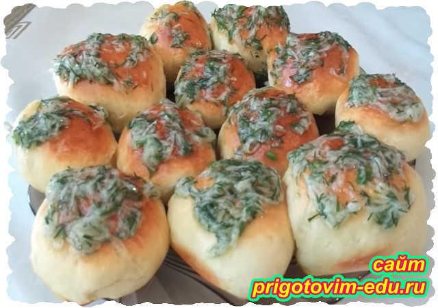 Пампушки Украинские с чесночным соусом