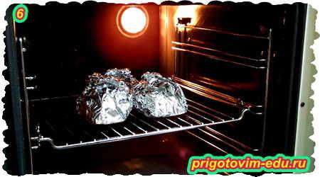 Рецепт сала запеченного в фольге в духовке 6