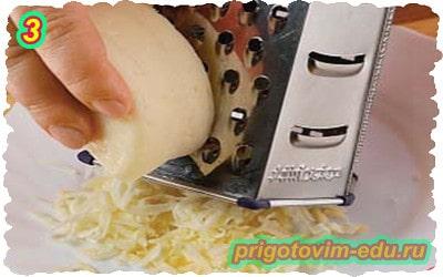Рулет из индейки с яблоком и сыром 3