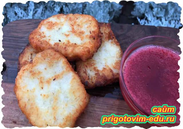 Хашбраун - картофельные лепешки с сыром