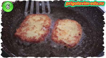 Как приготовить Хашбраун из картофеля с сыром