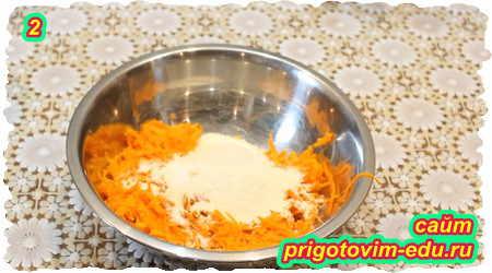 Как приготовить морковные котлеты с манной крупой 2