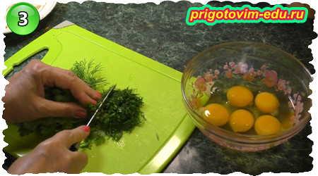 Как приготовить омлет из кабачков