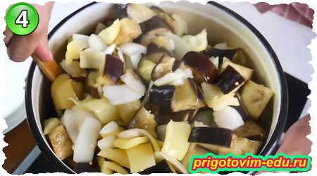 Как приготовить салат из баклажанов